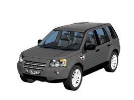 Landrover freelander compact SUV 3d model
