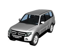 Mitsubishi Montero sport utility vehicle 3d model