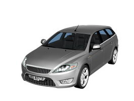 Ford Mondeo large family car 3d model