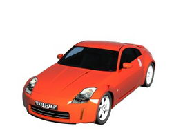 Nissan 350Z 2-door roadster 3d model