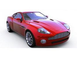 Aston Martin V12 Vantage sports car 3d model