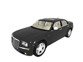 Chrysler 300 4-door sedan 3d model