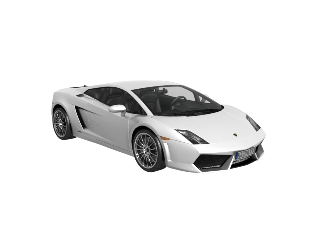 Lamborghini Gallardo roadster 3D Model