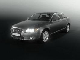Audi A6 sedan car 3d model
