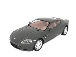 Aston Martin DB9 grand tourer 3d model