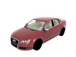 Audi B7 RS4 sedan 3d model