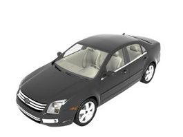 Ford Fusion sedan car 3d model