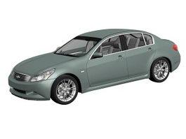 Infiniti G37 sedan 3d model