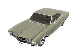 Buick Riviera 1963 car 3d model