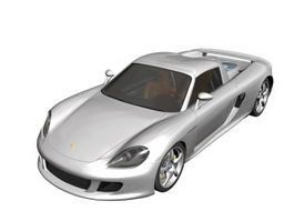 Porsche Carrera GT roadster 3d model