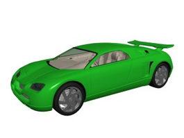 Super sports car 3d model