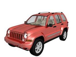 Jeep Liberty SUV 3d model
