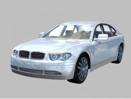 BMW 7 Series 4-door sedan 3d model