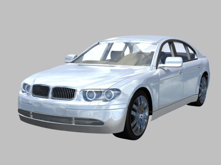 BMW Series Door Sedan D Model CinemaD Files Free Download - Bmw 4 door sedan