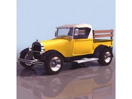 Ford 1929 Model AA truck 3d model