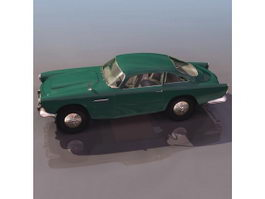 Aston Martin DB4 2-seat coupe 3d model