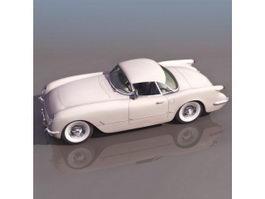 1954 Chevrolet Sport Coupe 3d model