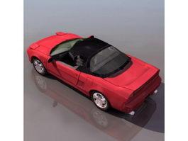 Honda NSX roadster 3d model