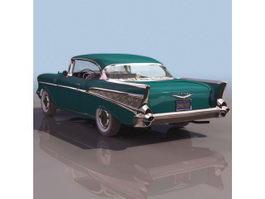 1957 Chevrolet 210 2-Door Sedan 3d model