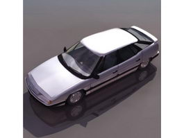 Citroen XM hatchback 3d model