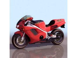 Honda NR racing motorcycle 3d model