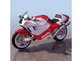 Bimota SB8K motorcycle 3d model