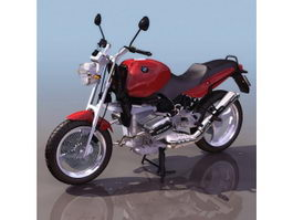 BMW R1100 sport touring motorcycle 3d model