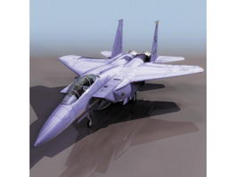 McDonnell Douglas F-15E strike fighter 3d model