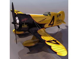 GeeBee Model Z American racing aircraft 3d model