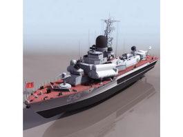 Nanuchka class missile corvette 3d model