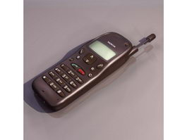 Early nokia mobile phone 3d model