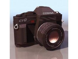 Cosina compact camera 3d model