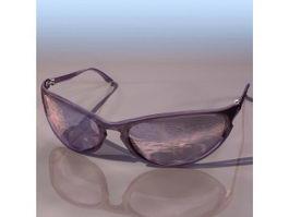 RAYBAN sunglass 3d model