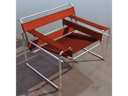Modern leisure chair 3d model