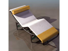 Le Corbusier chaise longue 3d model