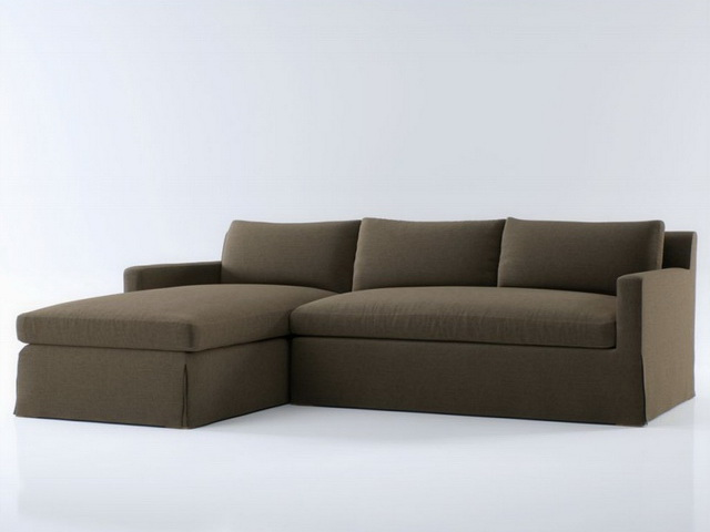 Fabric Modular Sectional Sofa 3d Model 3dsmax Files Free
