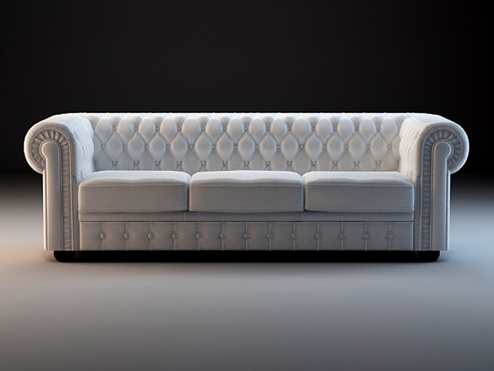 Chesterfield Sofa Set 3d Model 3dsmax 3ds Files Free
