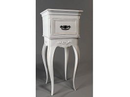 Classical corner console table 3d model