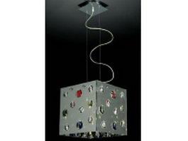 Modern pendant lighting 3d model