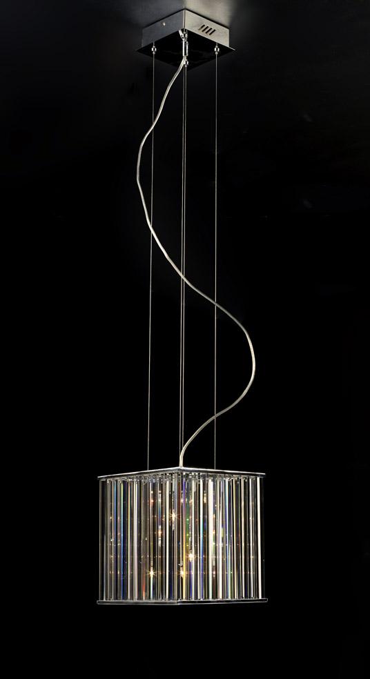 Crystal Cube Pendant Lamp 3d Model 3dsmax Files Free Download Modeling 11935 On Cadnav