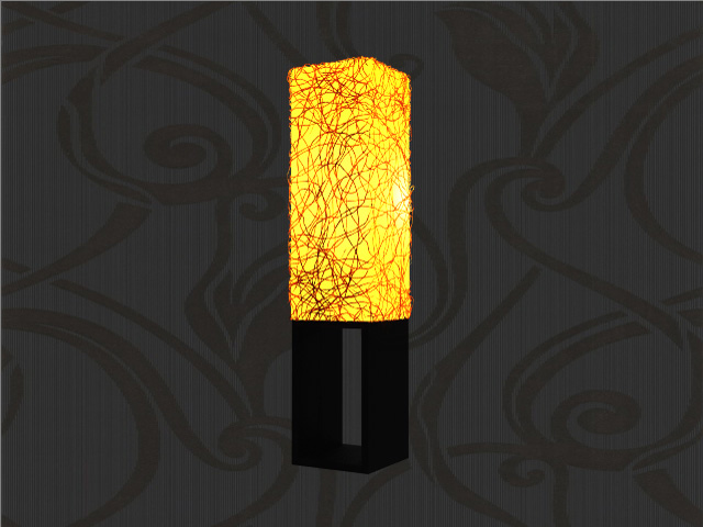 decorative urn floor lamp 3d model 3ds max files free gambar