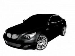 BMW M5 executive car 3d model