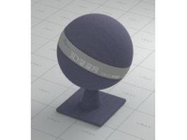 Blue gray carpet fabric vray material