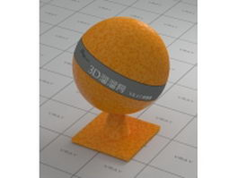 Shiny Orange vray material