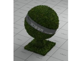 Grass court vray material