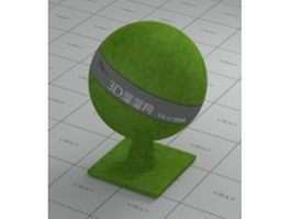 Lawn grass vray material