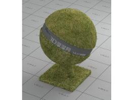 Green grass vray material