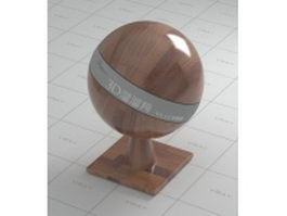Polished wood parquet tile vray material