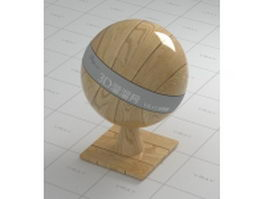 Polished wood flooring vray material