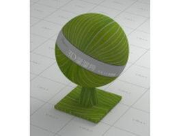 Grass-blade vray material